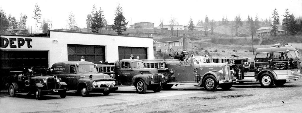 Kenmore Volunteer Fire Department organized