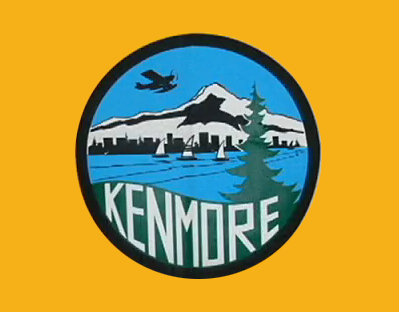 Official Kenmore community flag is unveiled