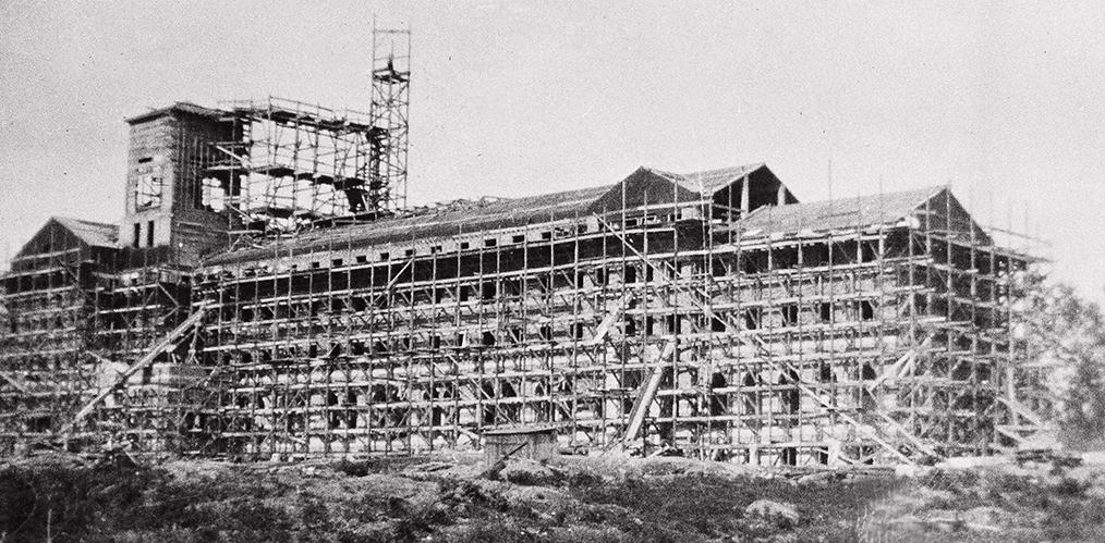 Construction of St. Edward's Seminary begins