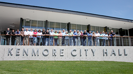 Kenmore City Hall dedicated